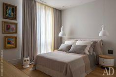 Квартира с необычной мебелью в Москве: интерьеры от Ольги Энгель | AD Magazine