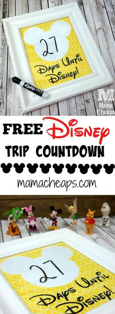 Here's a new spin off of the Cinderella-inspired Disney trip countdown I made last week! Disney World Vacation, Disney Cruise Line, Disney Vacations, Disney Trips, Disney 2017, Family Vacations, Disney Parks, Family Travel, Disney Countdown
