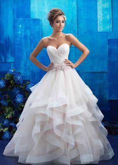 9408, Allure Bridals #weddingdress