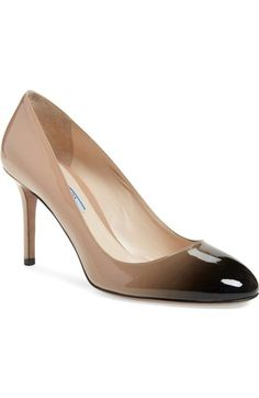 Prada Ombré Round Toe Pump (Women) available at #Nordstrom