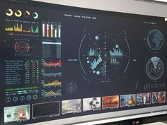 Futuristic GUI for Scifi Short