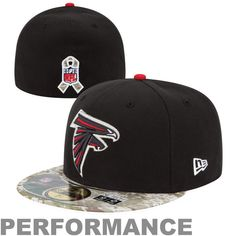 Atlanta Falcons New Era Black/Digital Camo Salute to Service On-Field 59FIFTY Fitted Hat, Sale: $26.99 - Save $11.00 https://www.facebook.com/permalink.php?story_fbid=1751438851744380&id=1694739607414305