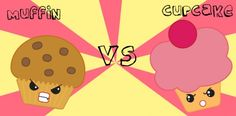 muffin vs cupcake