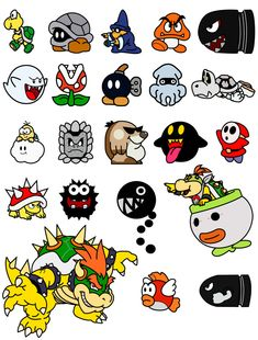 Super Mario Bros, Super Mario Party, Mario Crafts, Nintendo Tattoo, Gamer Tattoos, Retro, Culture Art, Mario Brothers, Video Game Characters
