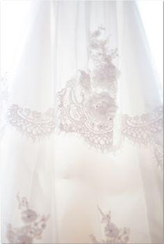 Carlsbad CA beach wedding dress with vintage lace boho chic