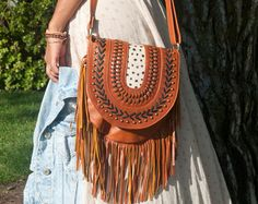 This item is unavailable Rustic Feel, Summer Wardrobe, Saddle Bags, Pouch, Purses, Sewing, Leather, Beautiful, Style