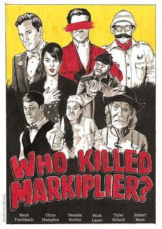 Who Killed Markiplier | amazing fan poster