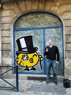 Street Art Par Monsieur Poulet - Bordeaux (France)