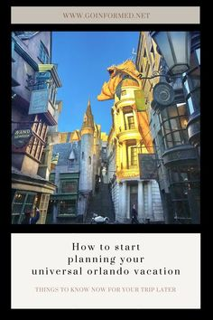 Start planning your   Universal Orlando vacation today! Find out what you need to know to   decide where to stay, how long to visit, and what to do when you get   there. Tips for making the most of your visit, including lots of info   about the Wizarding World of Harry Potter. Disney World Gifts, Disney World Vacation, Universal Studios Florida, Universal Orlando, Orlando Theme Parks, Orlando Vacation, Basket Ideas, Best Vacations, Things To Know