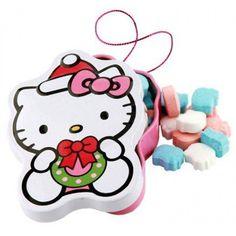 Hello kitty christmas candy tin