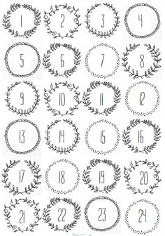 FREE Christmas printables, Stick them to bags or envelopes and hang on a string for a quick and easy Advent Calendar. Advent Calendar numbers to print off. Christmas Calendar, Christmas Countdown, Christmas Holidays, Christmas Crafts, Christmas Tables, Nordic Christmas, Modern Christmas, Christmas Stockings, Vintage Christmas