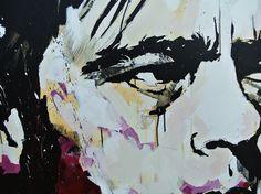 Benicio del toro painting detail