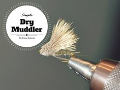Simple Caddis Dry Muddler Duranglers Fly tying Video