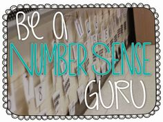 Number Sense Routines {freebies included}