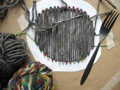 All-in-one-piece weaving projects done with make-it-up-as-I-go-along methods.