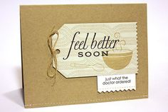 Feel Better With Soup and Sweater Card from Pinefeather, Papertreyink