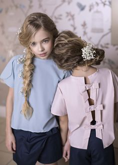 Sai top with bows from Amelie et Sophie...