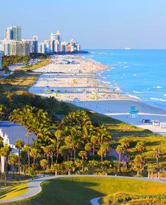 South Beach. Miami, Florida
