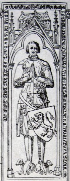 Jacques Louchard, 1350, Ourscamp Abbey, Chiry-Ourscamp, Oise, France