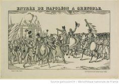 Entrée de Napoléon à Grenoble : [estampe] / Georgin sc. - 1
