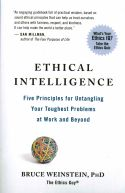 In Ethical Intelligence, Bruce Weinstein presents five core principles to improve the business and personal lives of his readers. By adopting these key principles, people can boost their ethical intelligence and enrich all aspects of their lives. By embracing simple virtues like compassion, respect, and fairness, Weinstein argues that professionals at any stage of their careers can improve their job outlook.