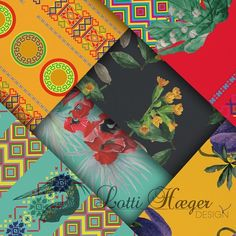 My new Collection Monica colour combinations with patterns and flowers/ Mi nueva colección Mónica combinación de colores y patrones#lottihaeger #architecture #arquitectura #flowers#cotton #pattern #colorful#colour #color#textiles #fabric #inredning #design #designer #decoration #decorating #interiordesign #decor #furniture #print #homedecor #home #homedesign #art