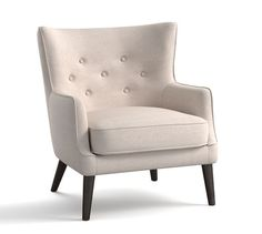 Manning Upholstered Armchair | Pottery Barn