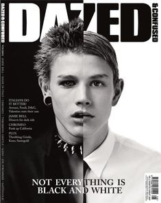 Dazed & Confused cover  - August 2007