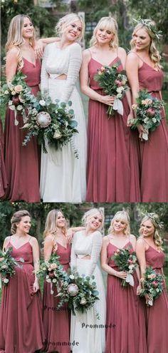 d58d46fef23ec 7 Best Dusty Rose Bridesmaid Dresses images