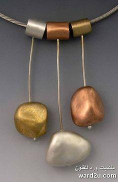 الطين المعدنى واروع اكسسوارات الفنانة Hadar Jacobson