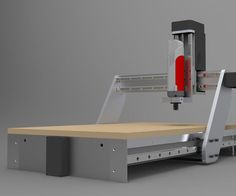 Building your own CNC router/milling machine style