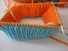 Ever wanted to make more than one knitted item at a time? What about a hat? We all know there are ways to knit two socks at a time on circular needles. What about knitting two at a time on double point needles? One inside of the other?