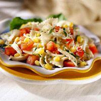 Corn and Tomato Pasta Salad Recipe