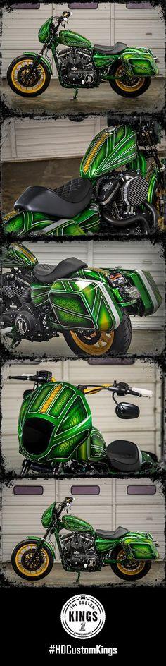 Harley Davidson Biker Sturgis Shovelhead Arched LONG SLEEVE T-shirt