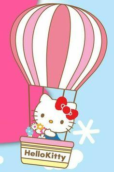 Hello Kitty Backgrounds, Hello Kitty Wallpaper, Yuko Shimizu, Melody Hello Kitty, Sanrio Characters, Fictional Characters, Hello Kitty Pictures, Little Twin Stars, Twin Sisters