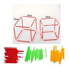 DIY Cube Cuboid Shape Model - Geometric Educational Learning Toy Math Teaching Aid for Student Teacher. December 22, Student Teacher, Learning Toys, Teaching Math, Cube, Tech, Shapes, Education, Model