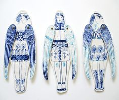 Ceramic dolls by Sonia Pullido