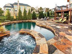 Custom Pools-Home and Garden Design Ideas