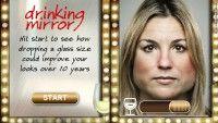 Aplicativo que faz parte da campanha do Governo Escocês a respeito de consumo de ácool