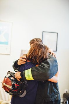 Surprise proposal: http://www.stylemepretty.com/2015/02/10/boston-firefighters-surprise-proposal/ | Photography: First Mate - http://firstmatephoto.com/