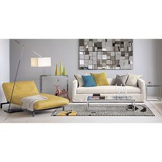 Site Index Lovely Living Pinterest Parlour Ottoman Bench And - Cb2 smart glass coffee table
