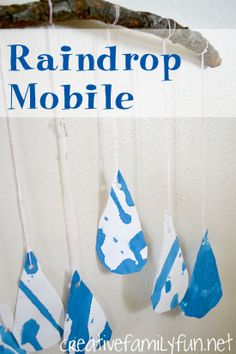 Raindrop Mobiles ~ Creative Family Fun