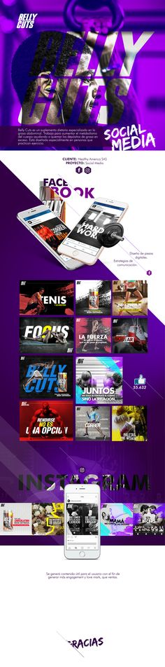 Belly Cuts - Social media, design & Sports on Behance