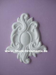 Wandtattoo - Echter Stuck - Stuck Ornament - Barock - ein Designerstück von RC-Stilmoebel bei DaWanda