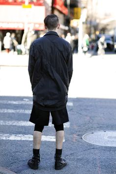 On the Street…..Darkside Of The Street, New York #fashion