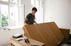 Bureau transformable en lit par BLESS - Blog Deco Design