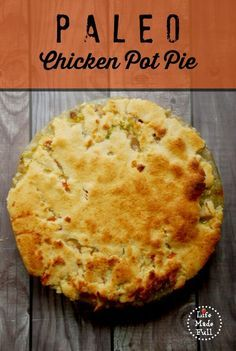 You won't miss this comfort food anymore! My Paleo Chicken Pot Pie will knock your socks off! What are you waiting for?