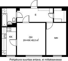 Maapadontie, Oulunkylä, Helsinki, 2h+kk 48 m², SATO vuokra-asunto