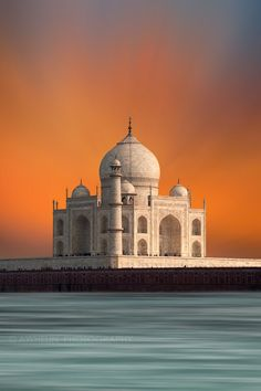 Taj Mahal by awhelin Tourist Places, Places To Travel, Places To Visit, Beautiful Buildings, Beautiful Places, Beautiful Pictures, Agra, Islamic Architecture, Art And Architecture