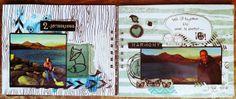 Scrap con ojos de Búho: Mini Album Lac des Bouillouse (Francia)